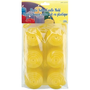 Yaley™ Plastic Votive Candle Mold, 6/Pack