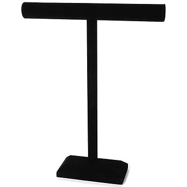 Darice® 18in. x 14in. Jewelry Stand, Black Velvet