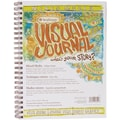 Pro-Art 9in. x 12in. Strathmore Visual Journal Spiral Bound, Mixed Media Vellum