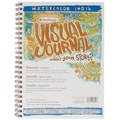 Strathmore 9in. x 12in. 140 Watercolor  Visual Journal Spiral Bound
