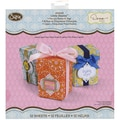 Sizzix® 12in. x 12in. Moroccan Pre-Cut Tags Boxes, Little Sizzles, 12/Sheet