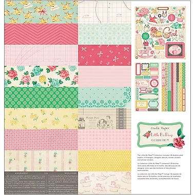 Crate Paper Little Bo Peep Collection Kit, 12in. x 12in.