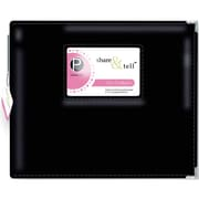 Pebbles Share and Tell D Ring Album, 12 x 12, Black