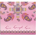 MBI® Expressions Live Love Laugh Postbound Scrapbook, 12in. x 12in., Pink