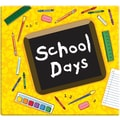 MBI® Expressions School Days Postbound Album, 12in. x 12in., Yellow