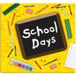 "MBI® Expressions School Days Postbound Album, 12"" x 12"", Yellow"