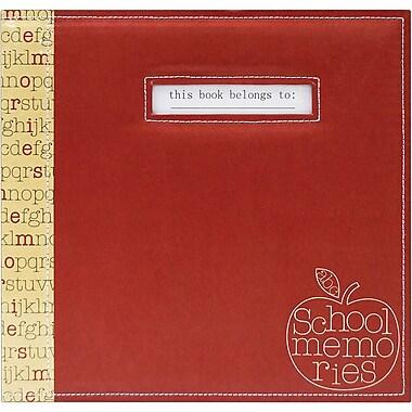 MBI® Expressions School Memories Postbound Scrapbook, 12