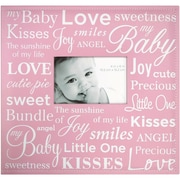 "MBI® Expressions Baby Expression Postbound Album With Window, 12"" x 12"", Pink"