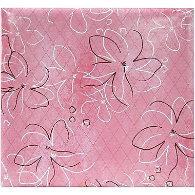 MBI® Expressions Tropical Postbound Album, 12in. x 12in., Pink