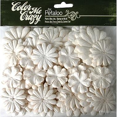 Petaloo™ 1in. - 2in. Medium Layers Color Me Crazy Paper Flowers, 288/Pack