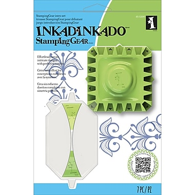 Inkadinkado® Stamping Gear Intro Set, Square & Rectangle