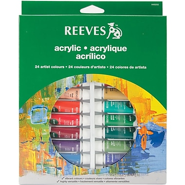 Reeves™ 10ml Acrylic Color Tube Set, Assorted