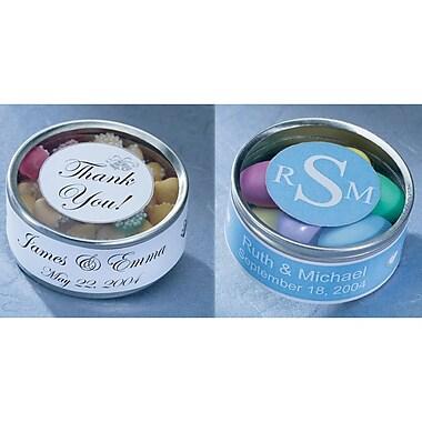 Wilton® Favor Tin Kit, Silver, 25/Pack