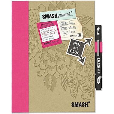 K&Company™ Smash Folio, Pretty Pink