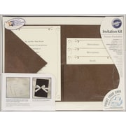 "Wilton® 9"" x 11 3/4"" x 2"" Pocket Invitation Kit, Vintage Ivy, 24/Pack"