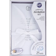 Wilton® 9 x 6 x 2 1/4 Infinity Invitation Kit, 25/Pack