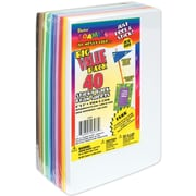 "Darice 1040-56 Assorted Sticky Back Sheets, 9"" x 6"", 40/Pack"