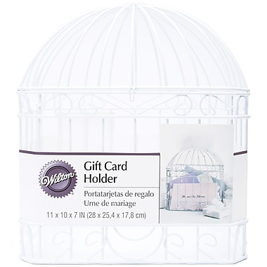 Wilton® Horizontal Reception Gift Card Holder, White