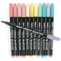 Uchida 12 Piece Pastel Brush Markers