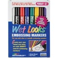 Uchida 8 Piece Primary Wet Looks Embossing Marker