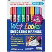Uchida 8 Piece Pastel Wet Looks Embossing Marker
