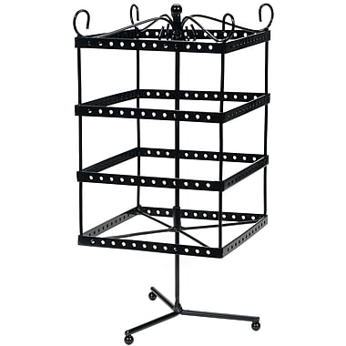 Darice® 6in. x 6in. x 13in. Metal Jewelry Display Shelf, Black