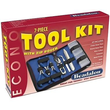 Beadalon® Econo 7 Pieces Tool Kit With Zip Pouch