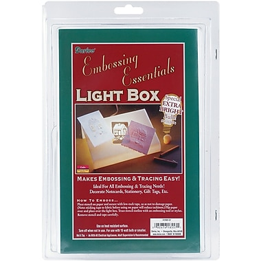 Darice 2503-51 White Light Box in Blister Clam, 9.13