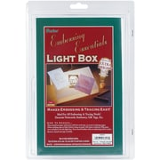 "Darice 2503-51 White Light Box in Blister Clam, 9.13"" x 5.88"" x 2.5"""