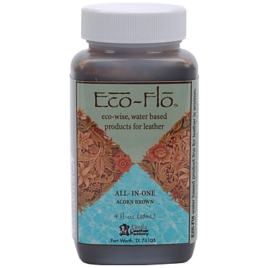 Leather Factory® Eco-Flo™ All-In-One Stain and Finishes