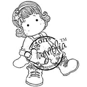 "Magnolia Sweet Crazy Love 6 1/2 "" x 3 1/2"" Cling Stamp, Tilda As A Star"