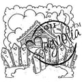 Magnolia Sweet Crazy Love 6 1/2 in. x 3 1/2in. Cling Stamp, Welcome To A Lovely Home