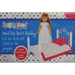 Fibre Craft® Springfield Collection® 20in. x 10 1/2in. x 11in. Polka Dot Bed and Bedding, White
