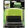 Plus Corporation Kes'pon Large ID Guard Stamp, Green