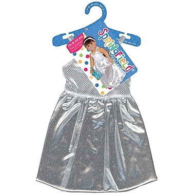 Fibre Craft® Springfield Collection® Prom Dress For 18in. Dolls, Silver