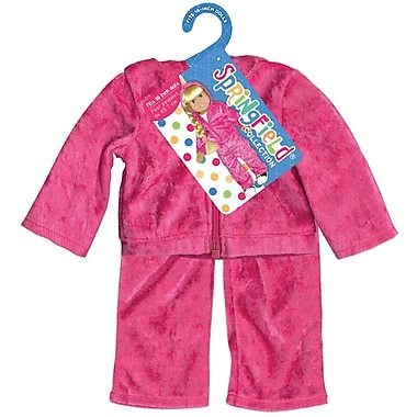 Fibre Craft® Springfield Collection® Velour Sweatsuit For 18in. Dolls, Pink