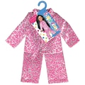 Fibre Craft® Springfield Collection® Leopard Pajamas For 18in. Dolls, Pink/White