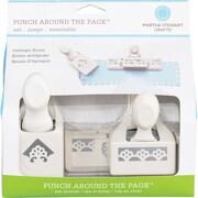 """Martha Stewart Crafts® Punch Around the Page Set, Deco Flowers, 1.8"""" x 0.5"""""""