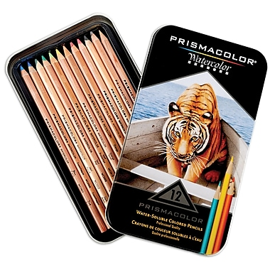 Sanford® 12 Piece Prismacolor Watercolor Pencils