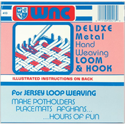 """Wool Novelty 413L Assorted Hand Weaving Loom and Hook, 7"""" x 1"""""""