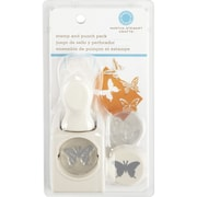 "Martha Stewart Crafts 1"" Stamp and Punch Set, Butterfly"