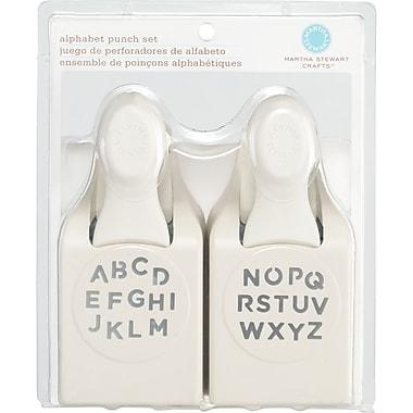 Martha Stewart Crafts® Punch Set, Alphabet, 1/4