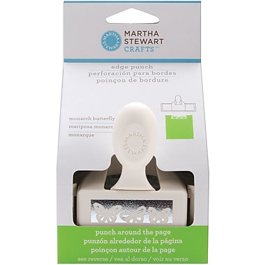 Martha Stewart Crafts® Around The Page Edge Punch, Monarch Butterfly