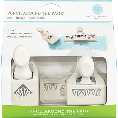 Martha Stewart Crafts® Punch Around The Page Set, Deco Shells, 7