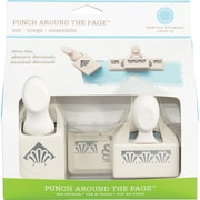 Martha Stewart Crafts® Punch Around The Page Set, Deco Shells, 7""