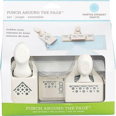 Martha Stewart Crafts® Punch Around the Page Set, Bubble Bath, 1.8