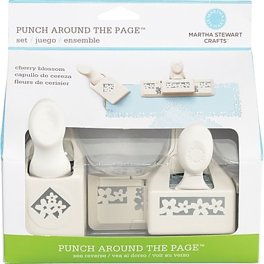Martha Stewart Crafts® Punch Around the Page Set, Cherry Blossom, 1.8