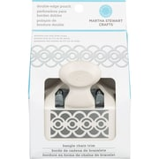 "Martha Stewart Crafts® Deep Double Edge Punch, Bangle Chain, 2.5"" x 1.25"""