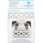 "Martha Stewart Crafts® Deep Double Edge Punch, Diamond Fence, 2.5"" x 1.25"""