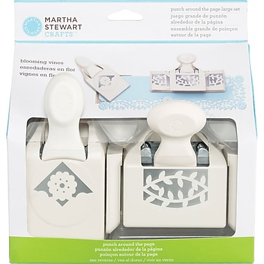 Martha Stewart Crafts® Around the Page Punch, Blooming Vines, 2 1/2